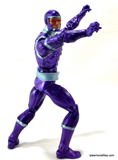 Machine Man Marvel Legends figure review - twisting back