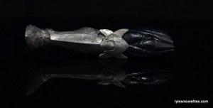 Marvel Legends Iron Fist figure review - Build a Figure Odin leg