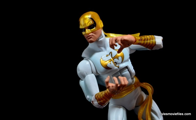 Marvel Legends Iron Fist figure review -channeling Chi