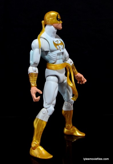 Marvel Legends Iron Fist figure review -right side