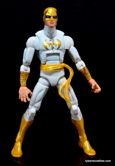 Marvel Legends Iron Fist figure review - straight