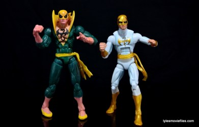 Marvel Legends Iron Fist figure review -with Toy Biz Iron Fist