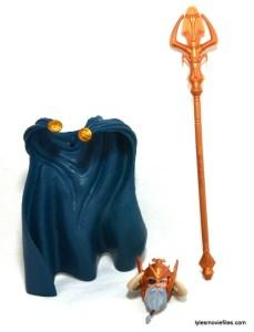 Marvel Legends Scarlet Witch figure review - Odin BAF parts