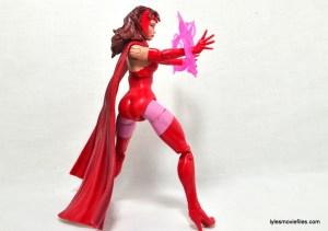 Marvel Legends Scarlet Witch figure review - rear pivot