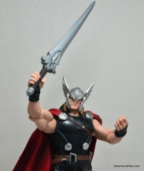 Marvel Legends Thor figure review - Thor has the power
