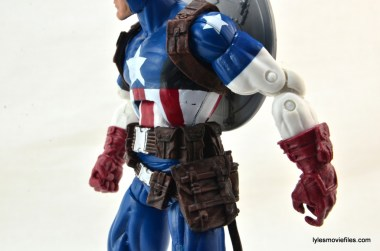 Marvel Legends three-pack Ms. Marvel, Captain America and Radioactive Man -Cap paint issue