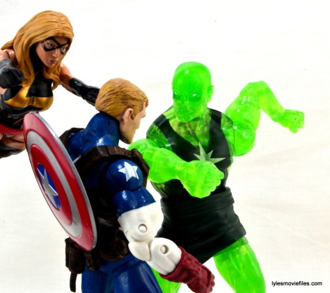 Marvel Legends three-pack Ms. Marvel, Captain America and Radioactive Man -Ms. Marvel and Cap vs Radioactive Man
