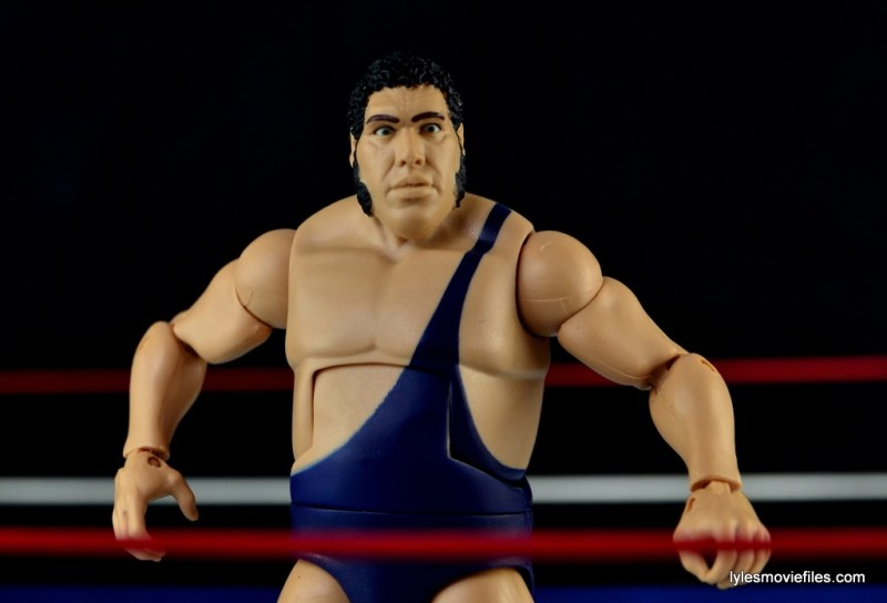 Mattel WWE Heenan Family set action figures review -Andre the Giant spotlight pic