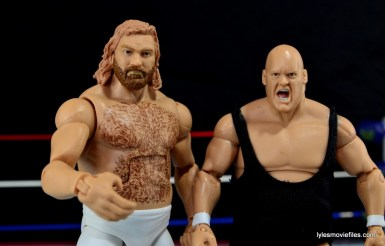 Mattel WWE Heenan Family set action figures review -Big John Studd and King Kong Bundy