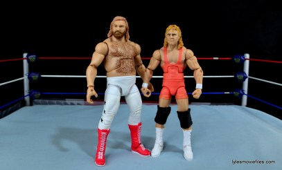 Mattel WWE Heenan Family set action figures review -Big John Studd and Mr Perfect
