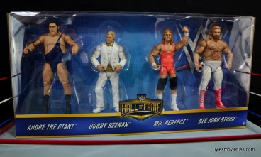 Mattel WWE Heenan Family set action figures review - front package