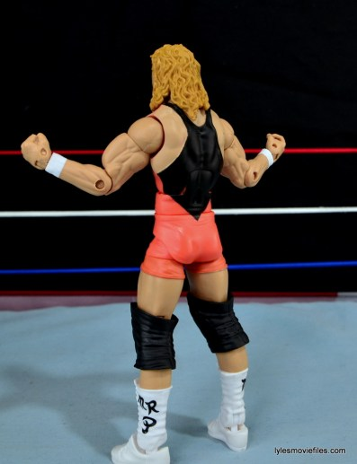 Mattel WWE Heenan Family set action figures review - Mr Perfect left side rear