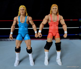 Mattel WWE Heenan Family set action figures review -Mr Perfect Legends 3 and Heenan set