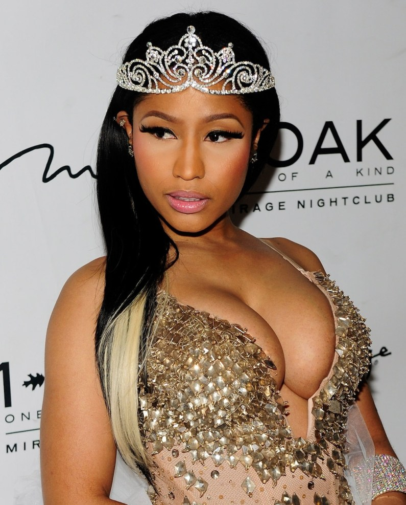 Nicki Minaj Hosts Halloween Haunted Funhouse At 1 OAK Nightclub In Las Vegas