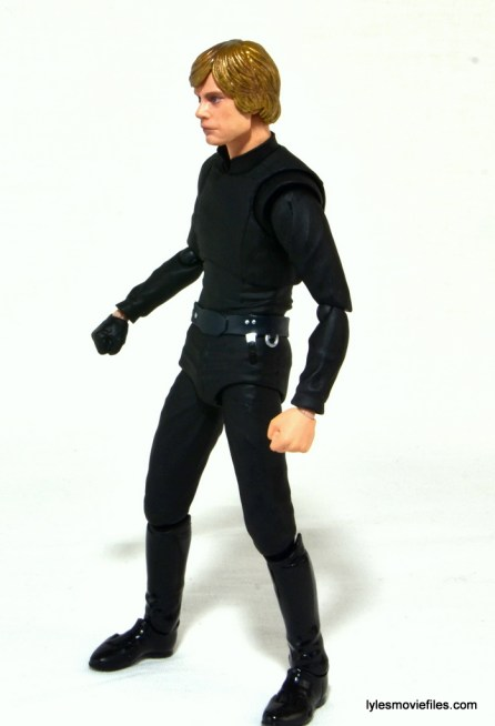 SH Figuarts Luke Skywalker figure review - left side
