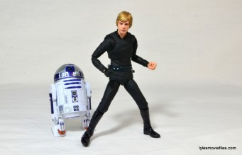 SH Figuarts Luke Skywalker figure review - with R2D2