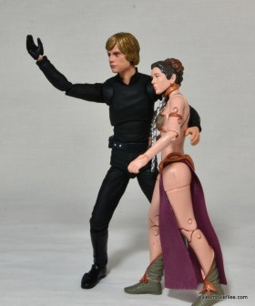 SH Figuarts Luke Skywalker figure review - with Slave Leia