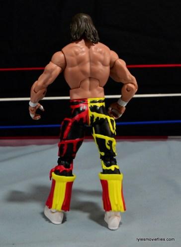 WWE Elite 38 Macho Man Randy Savage review -rear