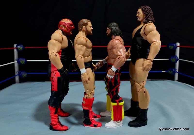 WWE Elite 38 Macho Man Randy Savage review -scale with Vader, Arn Anderson and The Giant