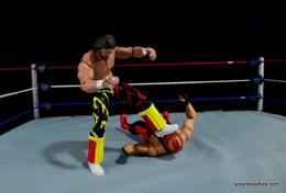 WWE Elite 38 Macho Man Randy Savage review -stomping Vader