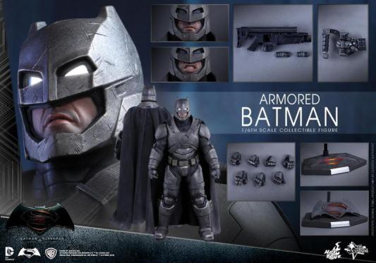 Hot Toys Batman v Superman Armored Batman -collage