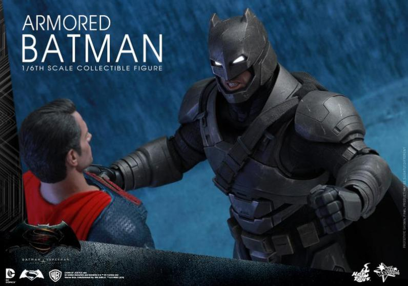 Hot Toys Batman v Superman Armored Batman -fighting Superman