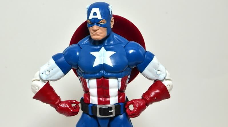Marvel Legends Captain America review -main pic