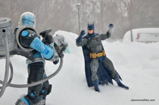 Mr. Freeze vs Batman