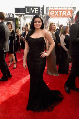 LOS ANGELES, CA - JANUARY 30: Actress Ariel Winter attends The 22nd Annual Screen Actors Guild Awards at The Shrine Auditorium on January 30, 2016 in Los Angeles, California. 25650_014 (Photo by Larry Busacca/Getty Images for Turner) *** Local Caption *** Ariel Winter