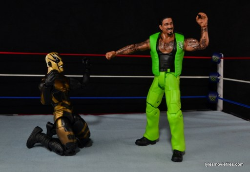 WWE Elite The Godfather review - Goldust begging off