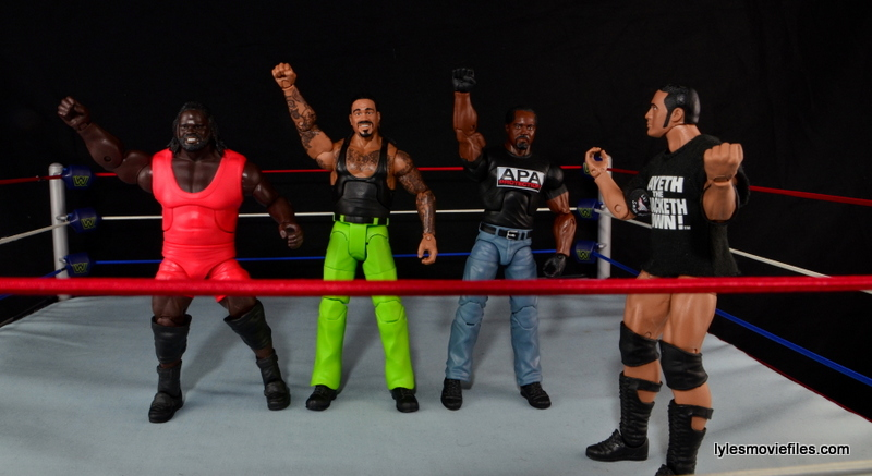 WWE Elite The Godfather review -makeshift Nation of Domination