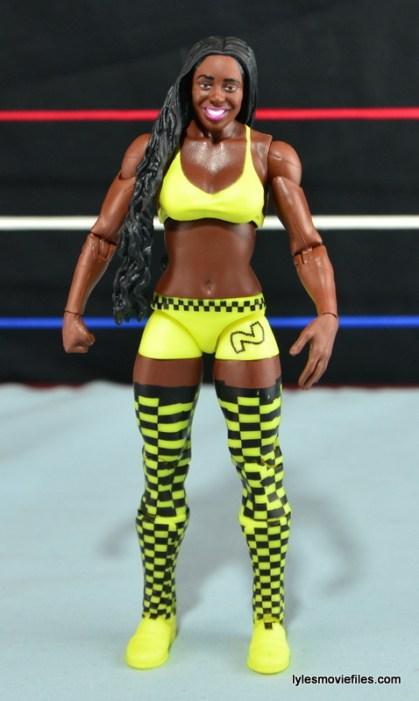 WWE Mattel Basic Naomi figure review - front