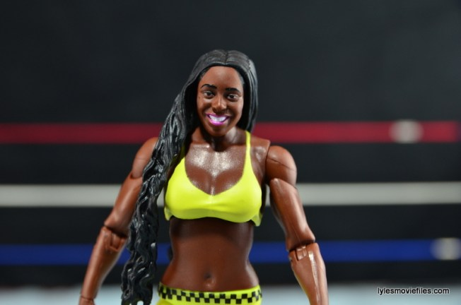 WWE Mattel Basic Naomi figure review -painted top