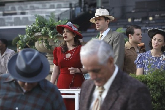 agent carter lady in the lake review - peggy and jarvis