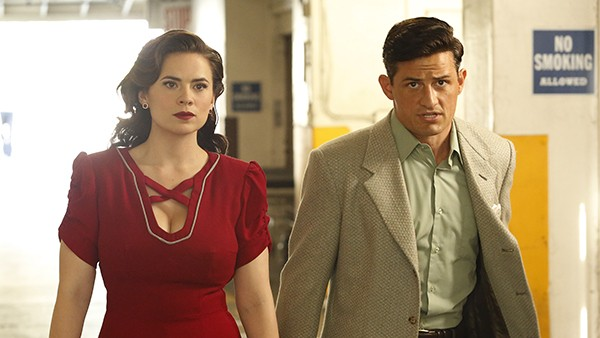 agent carter lady in the lake review -peggy and sousa
