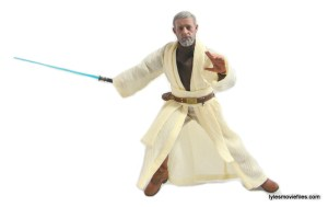Hot Toys Obi-Wan Kenobi figure review -battle stance