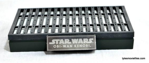 Hot Toys Obi-Wan Kenobi figure review - figure stand