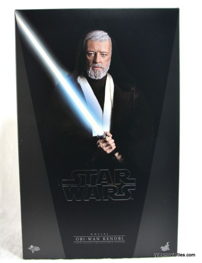 Hot Toys Obi-Wan Kenobi figure review - front package