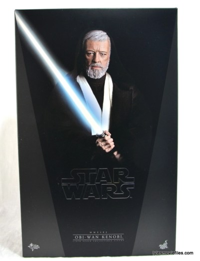 Hot Toys Obi-Wan Kenobi figure review - front package