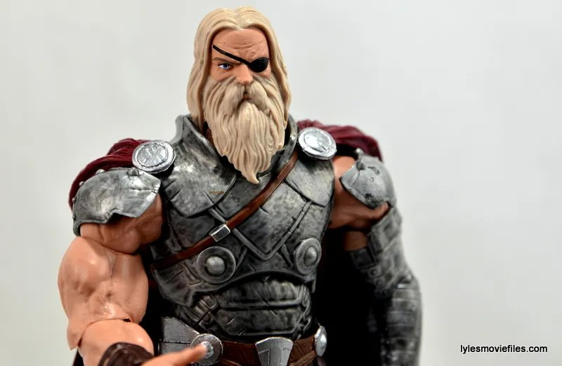 Marvel Legends Odin and King Thor review - King Thor close up