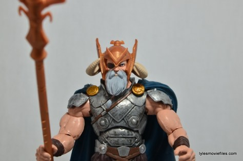 Marvel Legends Odin and King Thor review - Odin main