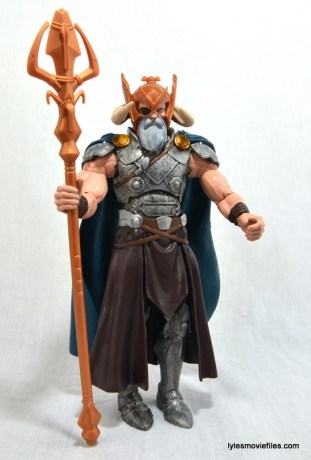 Marvel Legends Odin and King Thor review - Odin straight