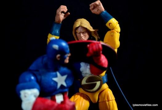 Marvel Legends Sentry figure review - vs Captain America