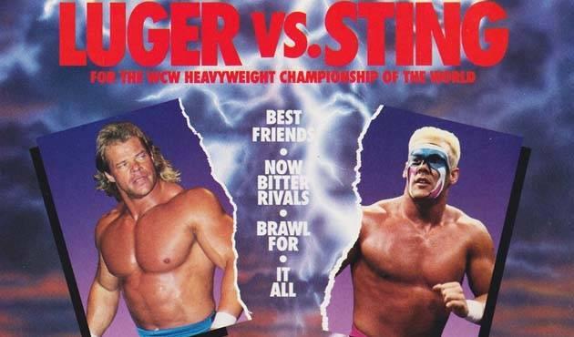superbrawl 2 - luger vs sting