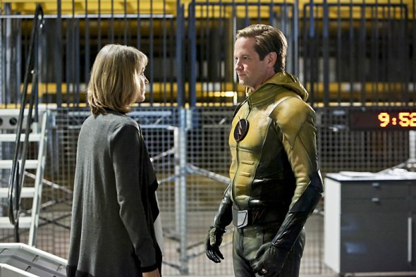 the flash - the reverse flash returns review - christina and reverse flash
