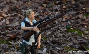 The Walking Dead Andrea figure review - holding rifle