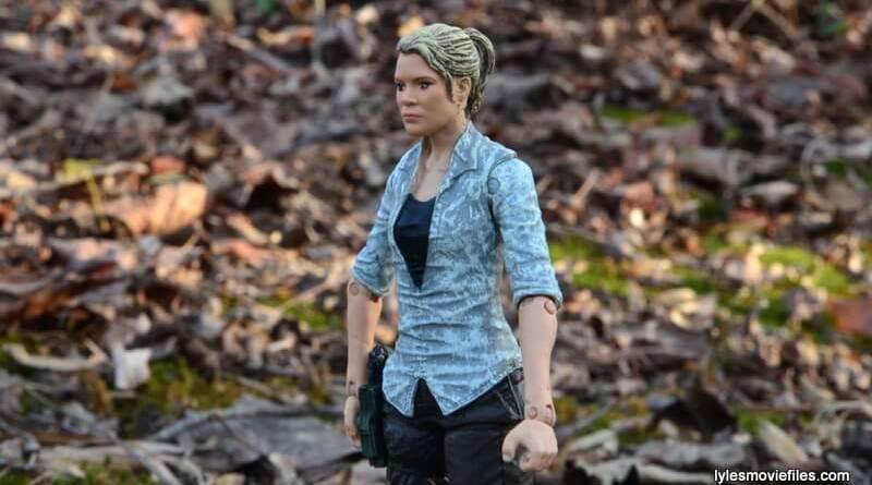 The Walking Dead Andrea figure review - main profile pic