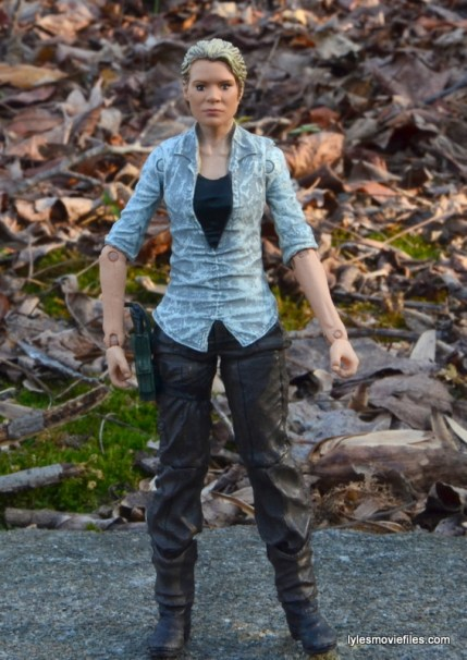 The Walking Dead Andrea figure review - straight