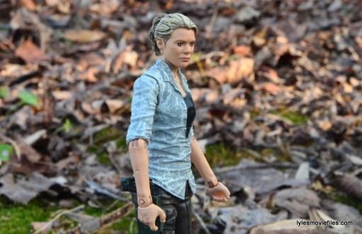 The Walking Dead Andrea figure review - wide side