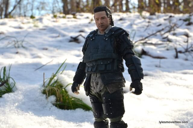 the walking dead eugene figure - close up